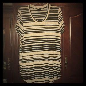 Mossimo striped top XL